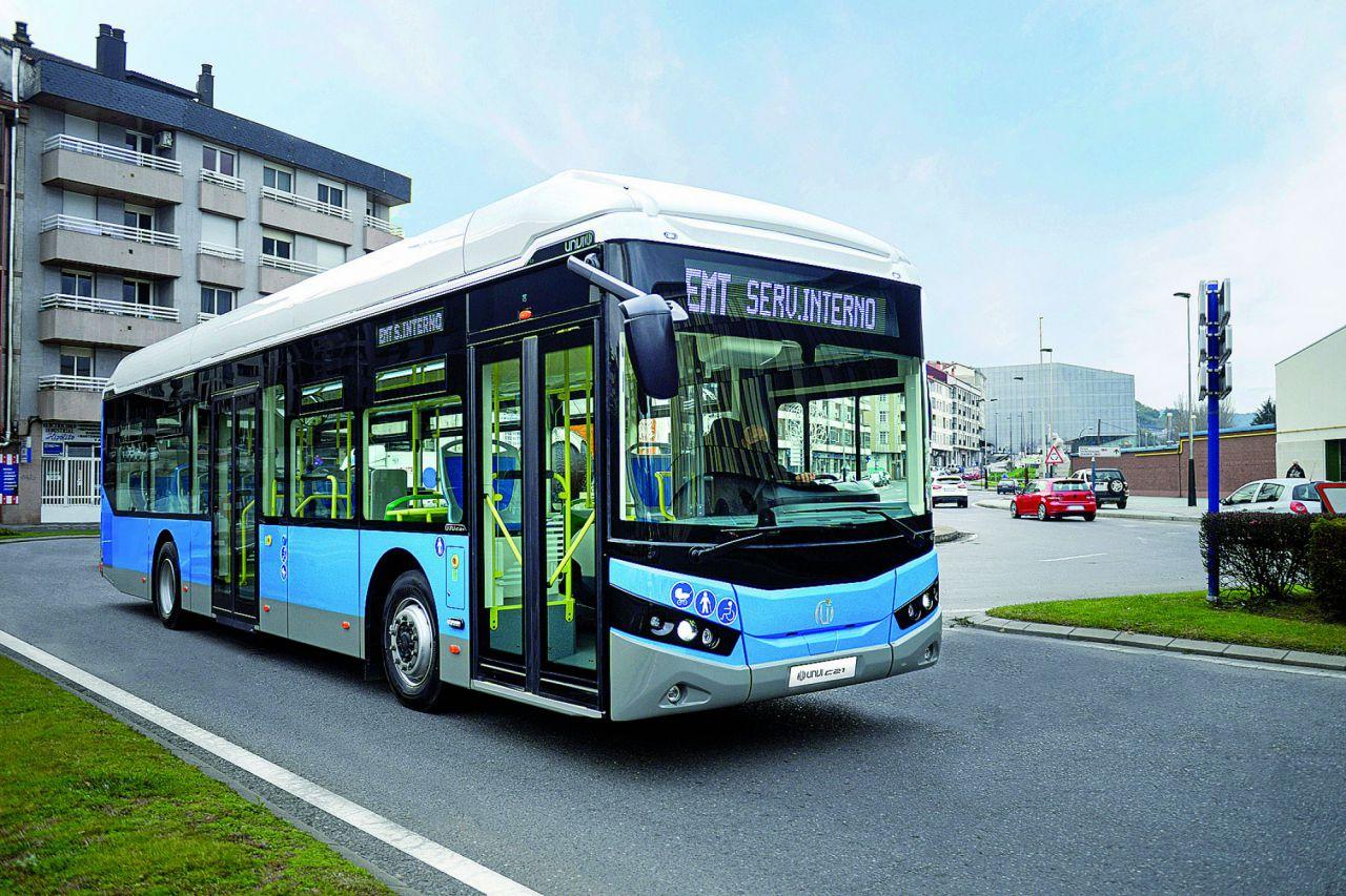 Tipo: Urbano Longitud: 10 a 12 metros Altura: 3,2 metros. Chasis: multimarca. Capacidad: hasta 35 sentados + de pie + 2 PMR + C. Versiones: diésel, GNC y eléctrico.
