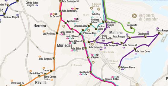Dos de las paradas de autobús de Muriedas, en Cantabria, contarán con paneles informativos solares