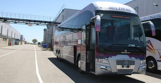 Autocares Molinero incorpora a su flota un nuevo vehículo con chásis Mercedes-Benz y carrocería Xerus