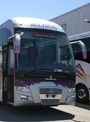 El nuevo vehículo de Autocares Molinero.