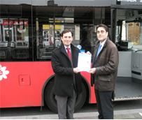 Bilbobus y Autocares Sobrón S.L. entran en el el programa Ecostars de gestión sostenible de flotas