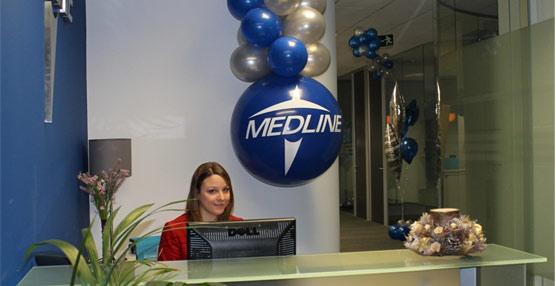 Recepción de la nueva sede para España y Portugal de Medline Iberia en el Parque Empresarial de San Fernando.