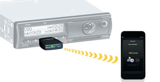 El fabricante VDO lanza un tacógrafo digital capaz de comunicarse con los