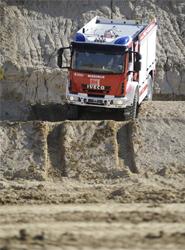 La gama de camiones de bomberos urbanos y 'off-road' de Iveco Magirus llega a España