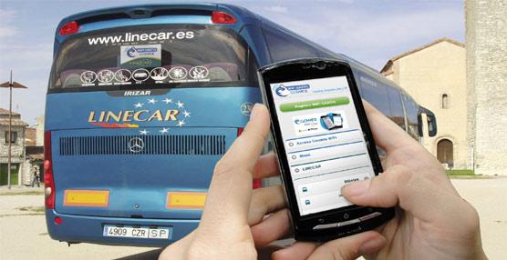 Los usuarios de la línea de Linecar entre Segovia, Valladolid y Madrid, ya disponen de conexión WiFi