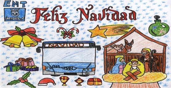 La Navidad llega a la EMT de Madrid con la modificación de los servicios por las fiestas y los concursos infantiles