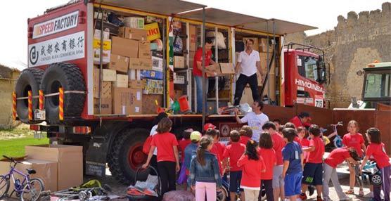Scania y En Ruta Solidaria colaboran para hacer llegar ayuda humanitaria a Mauritania