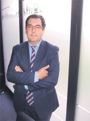 El director técnico del Consorcio, Dionisio González, durante la entrevista.