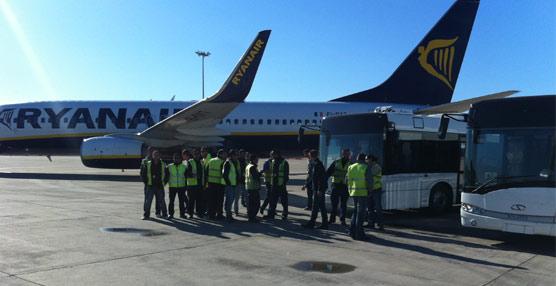 Solaris Bus Ibérica entrega un nuevo vehículo Urbino 15 destinado a operar en el aeropuerto de Málaga