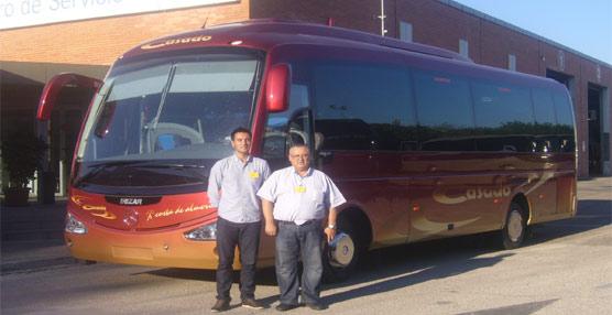 Microbuses y Taxis Casado incorpora un nuevo vehículo con chasis MBC Mercedes-Benz carrocería I4 de Irizar