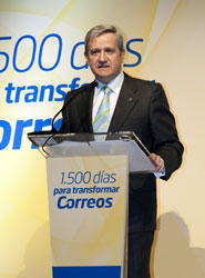 Presidente del Grupo Correos, Javier Cuesta Nuin.