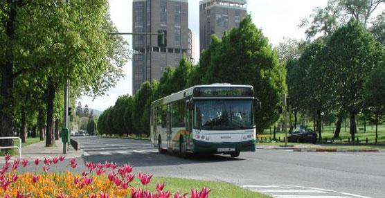 El Transporte Urbano de Pamplona estrena el 2 de enero los cambios previstos, entre ellos, una nueva línea a Entremutilvas