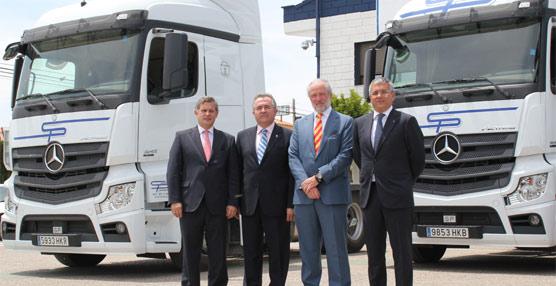 Santiago Peñaranda renueva su flota con 55 cabezas tractoras Mercedes-Benz Actros