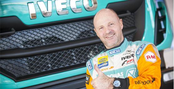 Iveco pone en marcha una web para seguir la actuación del equipo Iveco De Rooy Petronas  en el Dakar