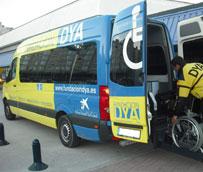 El servicio de transporte adaptado de DYA Cantabria recibe una subvención de La Caixa de casi 28.000 euros