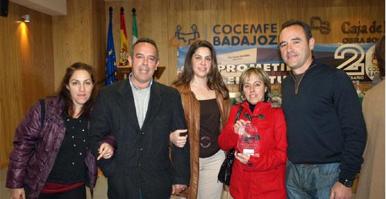 Autocares Hermanos Luengo Martín recibe el premio OTAEX 2012 en la categoría de transporte