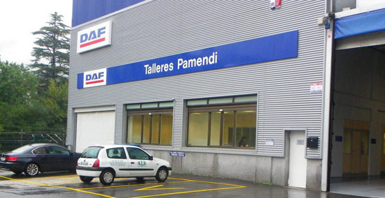 Talleres Pamendi ha inaugurado nuevas instalaciones del Servicio Oficial DAF en la localidad guipuzcoana de Lezo