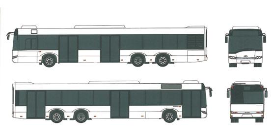 Solaris Bus Ibérica entrega ocho nuevas unidades Urbino 15 destinado a operar en el aeropuerto de Tenerife Sur