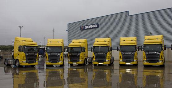 Scania entrega 25 camiones R-500 con sistema de gestión de flotas a la empresa Transportes Cerezuela