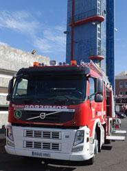 El Consorcio de Bomberos de Tenerife mejora sus medios de extinción y rescate con dos nuevos vehículos Volvo