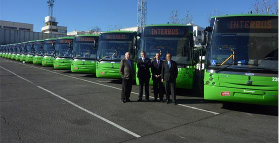 Volvo entrega 15 unidades de su modelo B7R carrozados por Sunsundegui a Interurbana de Autobuses S.A.