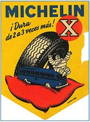Michelin celebra los 60 años de la aparición de su neumático X Radial para camión, fabricado en 1952