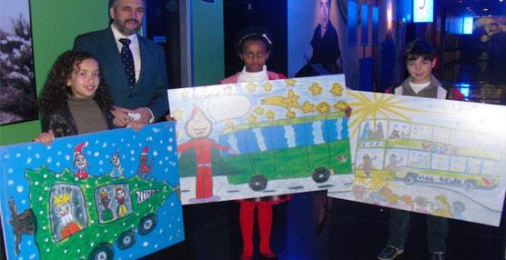 Vitrasa otorga los premios correspondientes a su concurso infantil de postales de navidad