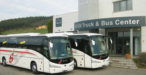 Las matriculaciones de autobuses y autocares descienden en el último mes del año un 66,7% con respecto a 2011