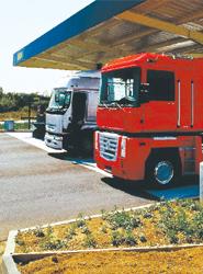 Los transportistas beneficiarios del gasóleo profesional deben  declarar a la AT los kilómetros realizados