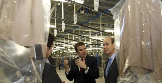 De Alarcón: 'La ampliación de las instalaciones de Inditex en PLAZA confirman su interés por este área'