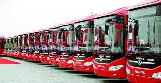 El fabricante chino King Long alcanza la 'cifra record' de 9.000 unidades exportadas durante el pasado año
