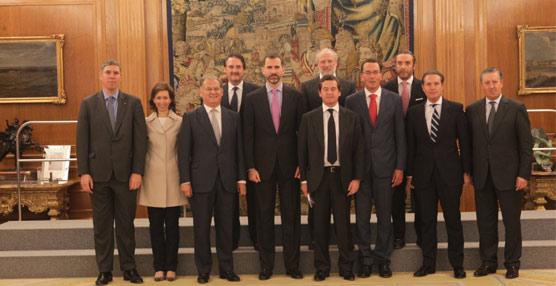 Anfac muestra su optimismo a la hora de presentar su Plan 3 millones al Príncipe de Asturias