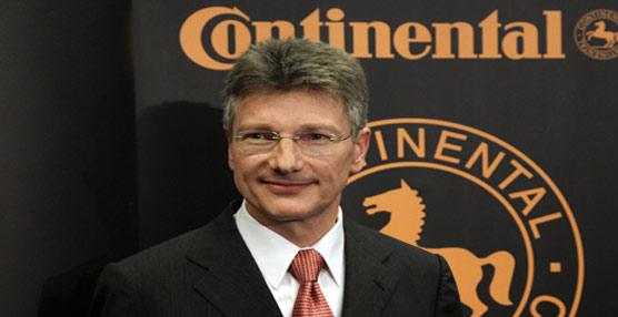 Continental alcanza una cifra de negocio superior a la de 2011 en más de un 7%, situándose en 32.700 millones de euros
