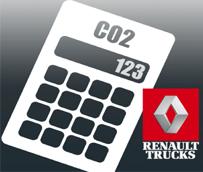 Renault Trucks lanza la aplicación EcoCalculator 'para calcular de forma sencilla las emisiones de Co2 y NOx'