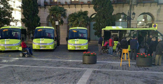 Staco Bus entrega cuatro unidades de su modelo Itineris a la Marina Gandiense, de GT, en la ciudad de Gandía