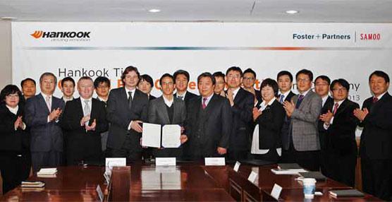 Hankook continúa con su inversión en I+D y construirá las nuevas instalaciones centrales de investigación de la mano de la coreana Foster+Partners