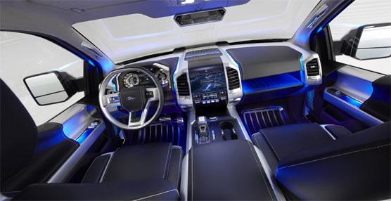 Ford presenta su nuevo vehículo Ford Atlas Concept, 'su visión de lo que serán los pick-up del futuro'