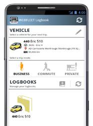 WEBFLEET Logbook, lo nuevo de TomTom para 'simplificar el registro del kilometraje de cada trayecto'