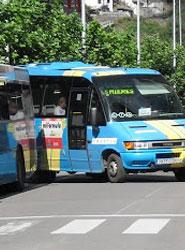 Emutsa, que gestiona el transporte urbano de Mieres, perdió un 25% de viajeros en los últimos tres años