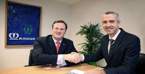 Krone y Gigant Trenkamp&Gehle amplían su acuerdo de colaboración para el desarrollo conjunto de ejes para el trabajo agrícola