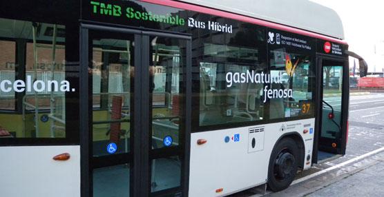 Comienza a circular con pasajeros el primer autobús de gas natural comprimido transformado en híbrido eléctrico