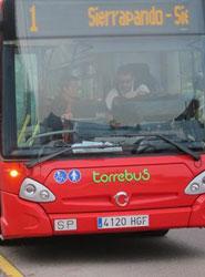 Hacienda concede una subvención de 9.173 euros al Torrebús de Torrelavieja por su funcionamiento en 2011
