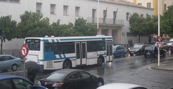 Autobús de la empresa Emtusa.