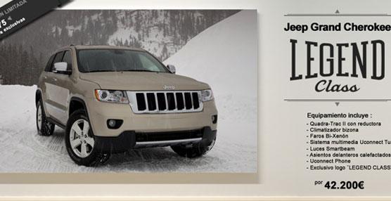 Jepp lanza una edición especial del Grand Cherokee  para conmemorar los 20 años desde su lanzamiento en España