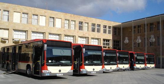 El Ayuntamiento de Logroño adelanta la segunda partida del presupuesto total destinado al servicio de autobuses urbanos