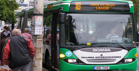 La capital de Estonia ofrece transporte público gratuito a los usuarios que demuestren ser residentes de Tallin