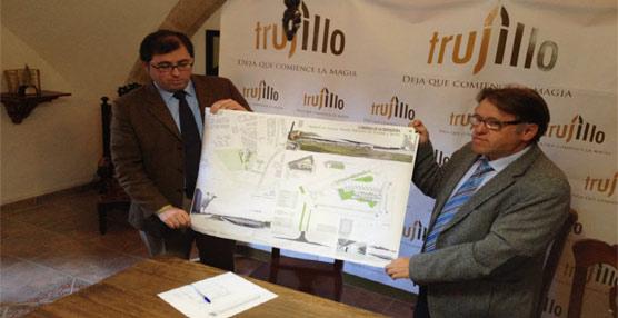 Presentado el proyecto de la nueva estación de autobuses de Trujillo por una inversión de 1.600.000 euros