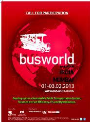 Busworld India 2013 abrirá sus puertas el próximo viernes y dedicará una de sus jornadas a la seguridad del transporte escolar