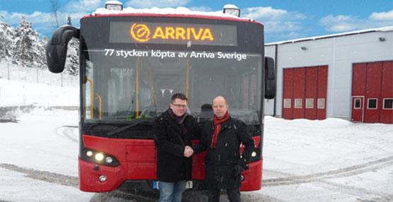 Arriva Suecia recibe las últimas 41 unidades del Citea XLEs, completando las 85 totales solicitadas a VDL