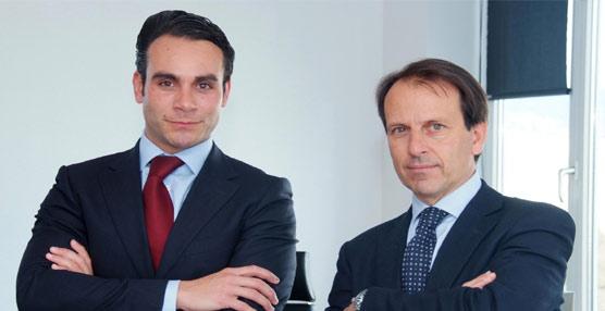 Los nuevos directores generales conjuntos de Rhenus Logistics y Rhenus Tetrans, Rubén Ruiz y Jordi Vidal.